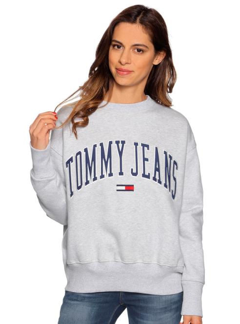 20% extra Rabatt auf Kleidung für Schmuddelwetter, z.B. Tommy Jeans TJW Collegiate Sweater