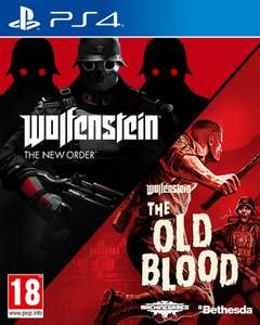 Wolfenstein: The New Order & The Old Blood Double Pack (PS4) für 14,75€ (ShopTo)