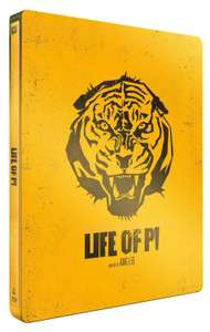 Life of Pi Blu-ray (Limited Steelbook Prime)