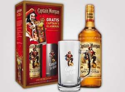 Captain Morgan Geschenkset mit Captain Krug