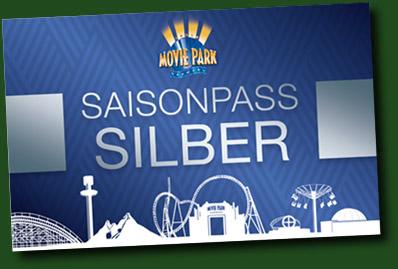 Movie Park Germany Saison Pass Silber 2019