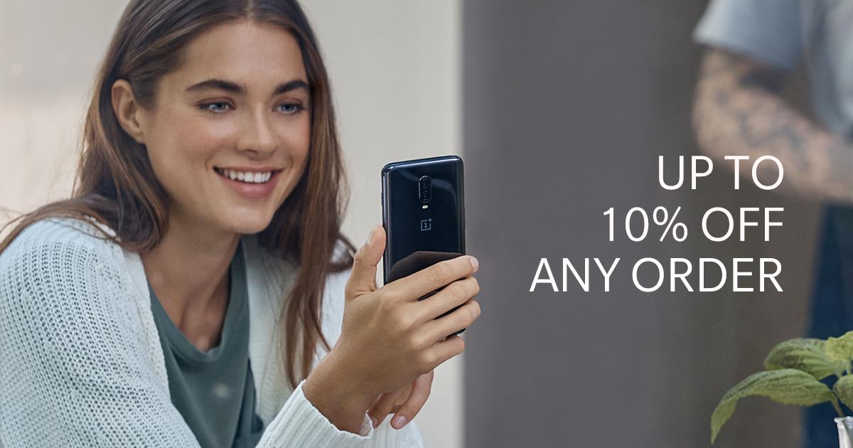 [Studenten und Schüler] OnePlus 6T 6GB RAM + 128GB Storage [Mirror Black] über offizielle OnePlus Seite