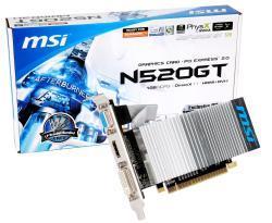 MSI N520GT Grafikkarte passiv und low profile bei Arlt für 24,99