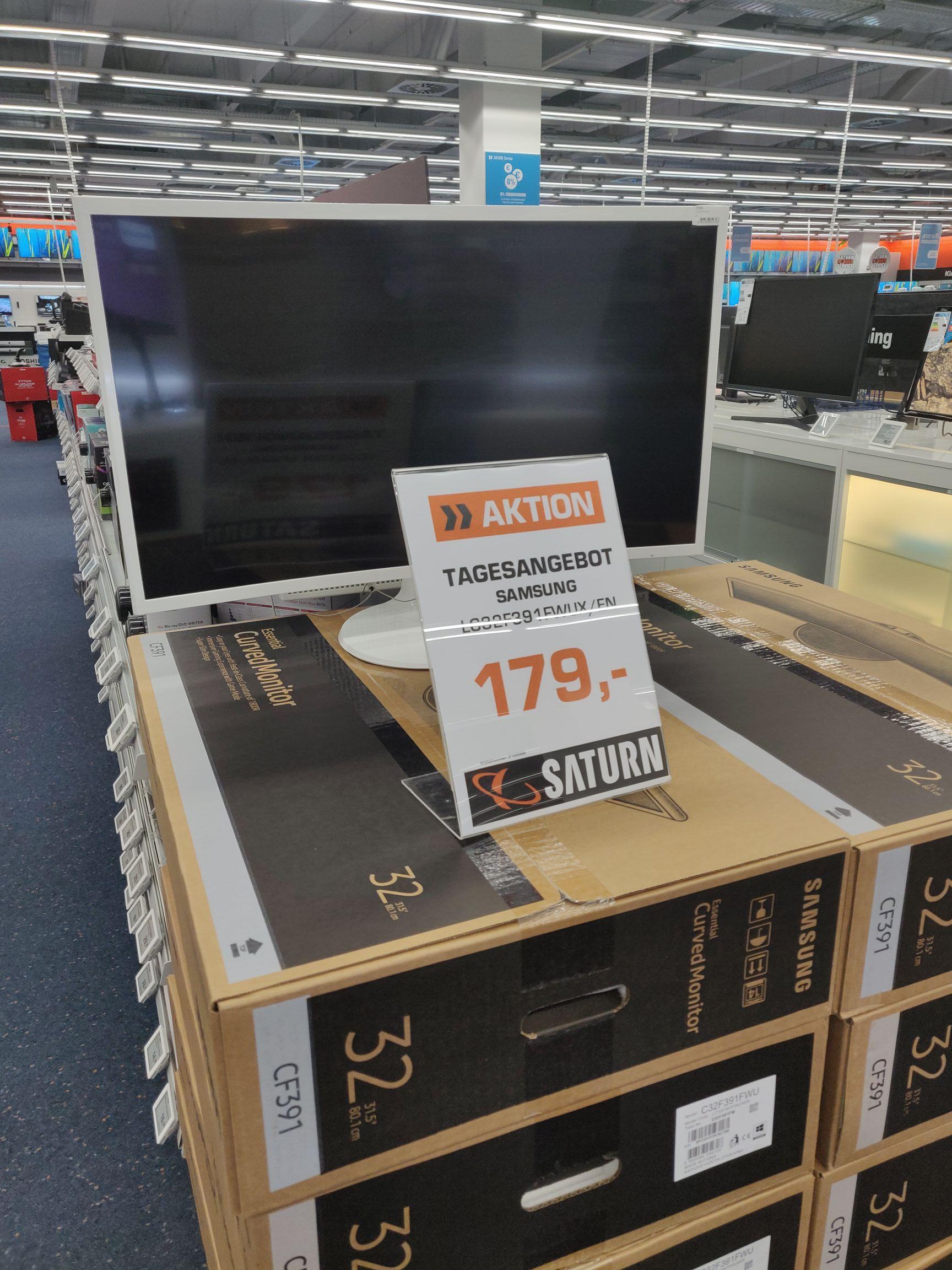 Samsung Monitor LC32F391 bei Saturn Weiterstadt!