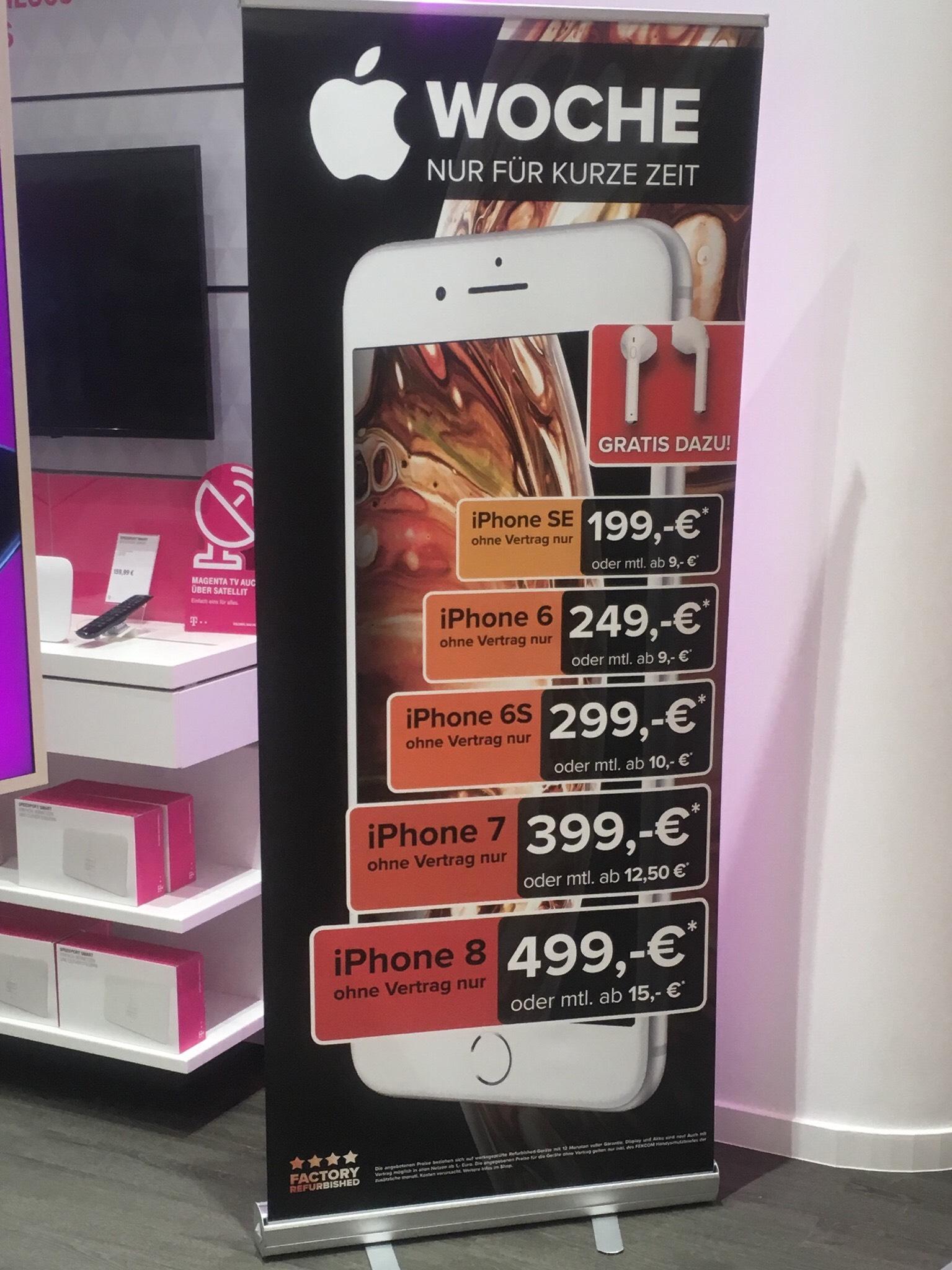 Berlin: iPhone SE und andere