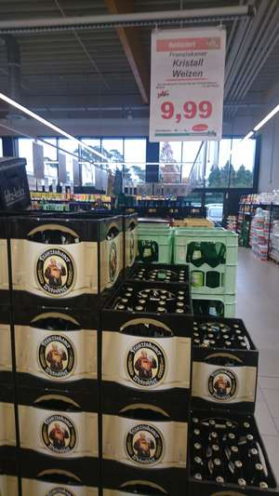[lokal Meppen] Franziskaner Kristall im Marktkauf
