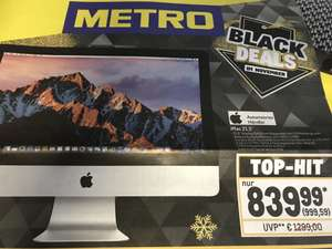 "[Metro] Apple iMac 21.5"", Core i5-7360U, 8GB RAM, 1TB HDD"