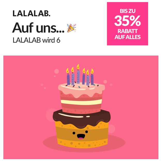 LALALAB -6 Geburtstag: 25/35 % ab 25/35€ MBW | Fotodruck