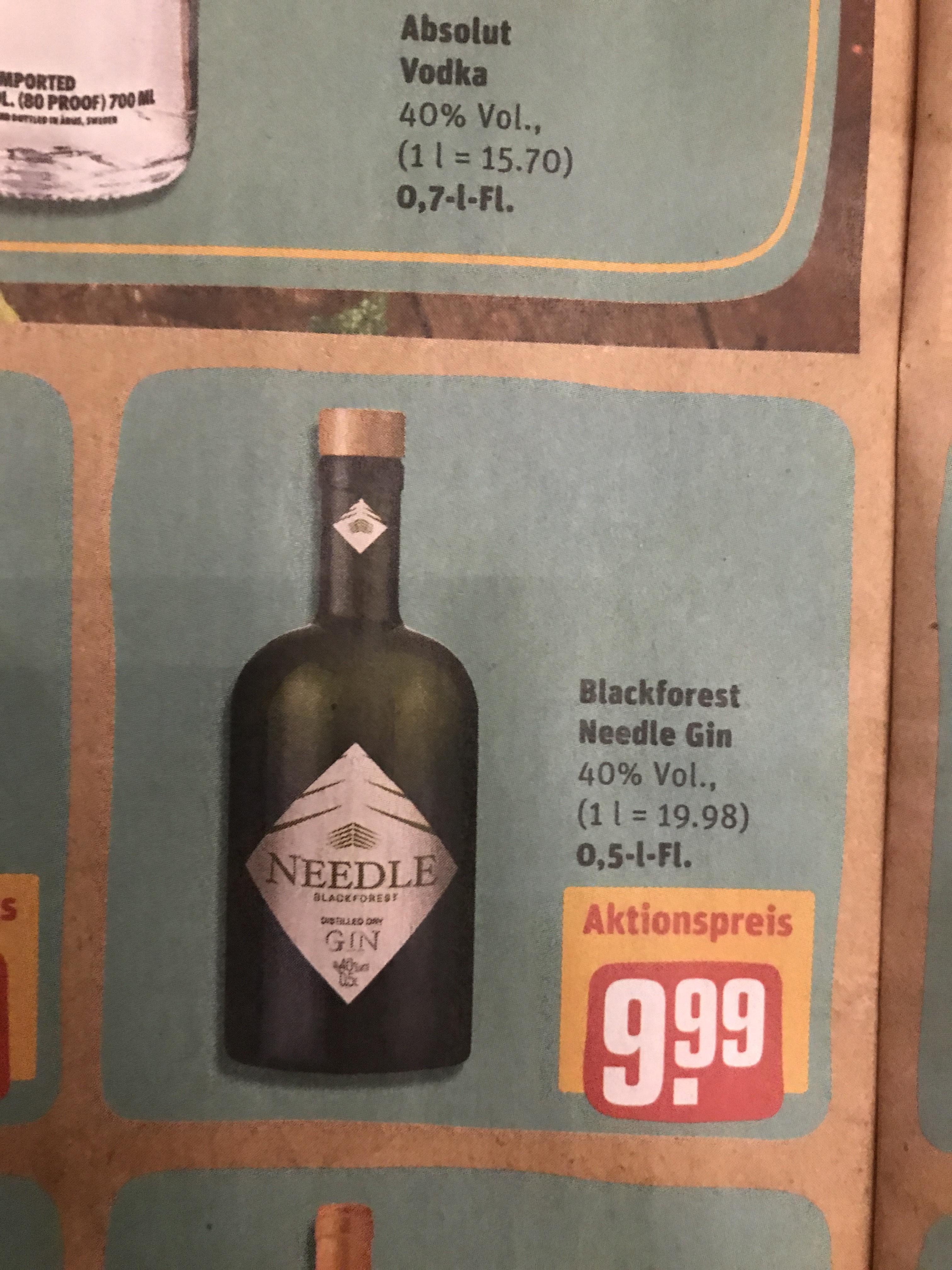 Needle Gin bei Rewe