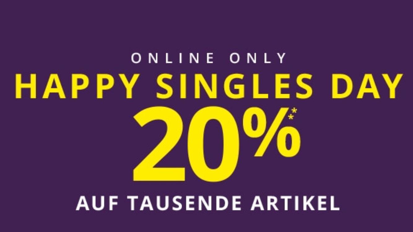 HAPPY SINGLES DAY bei Peek&Cloppenburg 20% auf 7528 Artikel