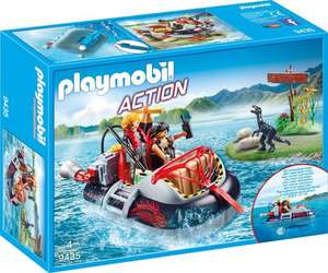 PLAYMOBIL® 9435 - Luftkissenboot mit Unterwassermotor - Playmobil Action