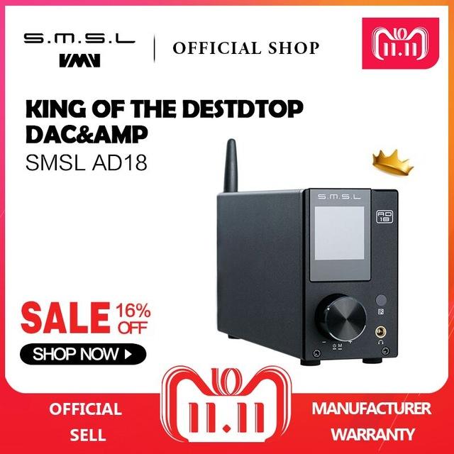 SMSL AD18 HIFI Audio Stereo Verstärker - ClassD [AliExpress]