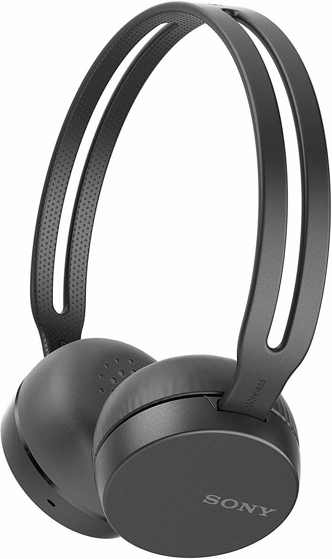 Sony WH-CH400 Bluetooth Kopfhörer - Freisprechfunktion, NFC, Voice Assistant, schwarz oder blau (Amazon.it)