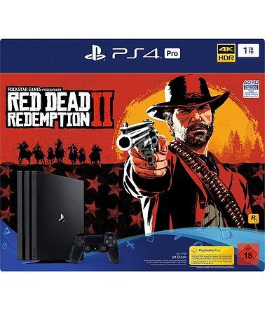 PlayStation 4 Pro 1TB Bundle inkl. Red Dead Redemption 2 für 386,54 inkl. Versandkosten