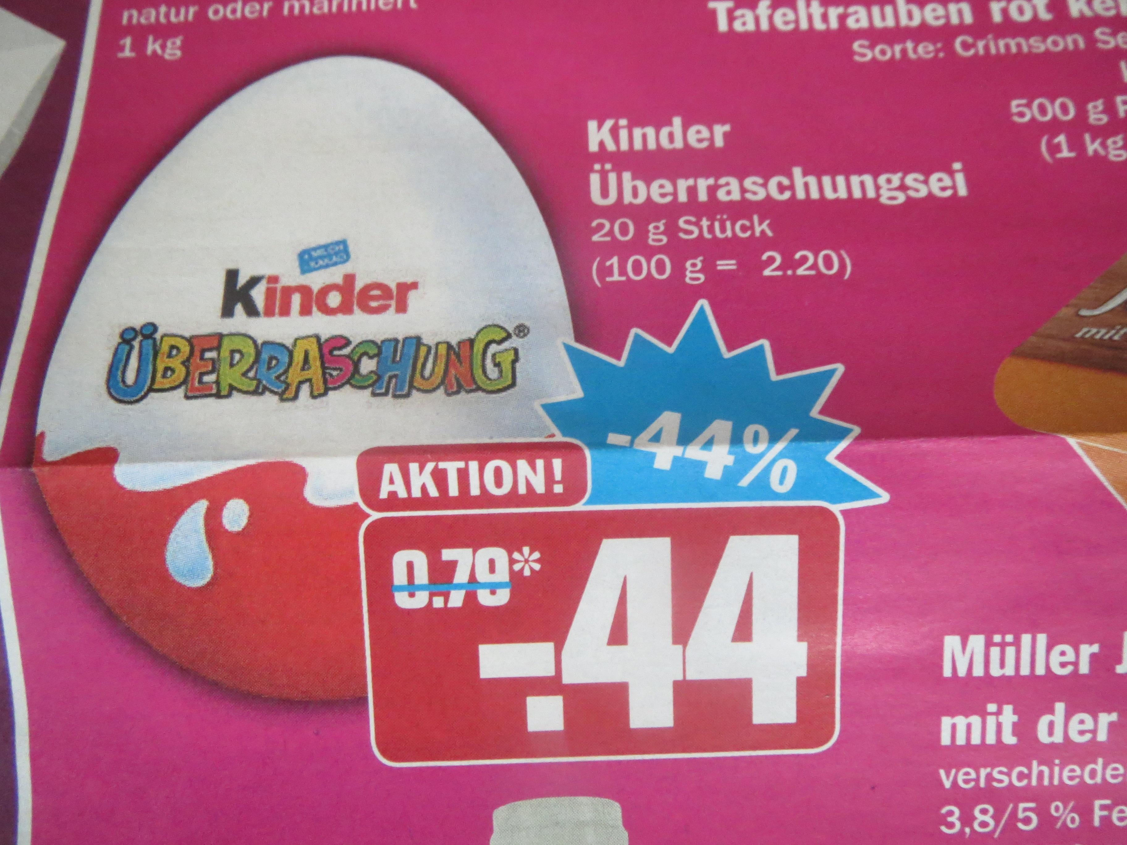 (Hit Markt) Kinder Überraschungs-Ei