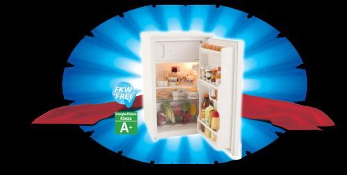 Real Deal des Tages: Luxor Kühlschrank(mit Gefrierfach) A+ 81 Liter