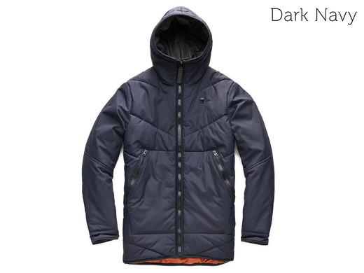 [ibood] G-STAR RAW Herren Winter-Jacke Strett Chevron Größen S-XL dunkelblau oder schwarz