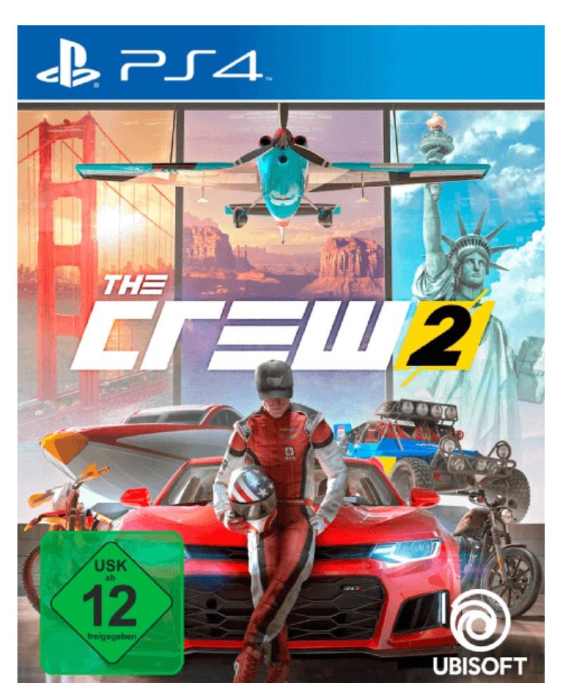The Crew 2 für PS4 normale Version (mit Masterpass nochmal 11% auf 25,81€) versandfrei