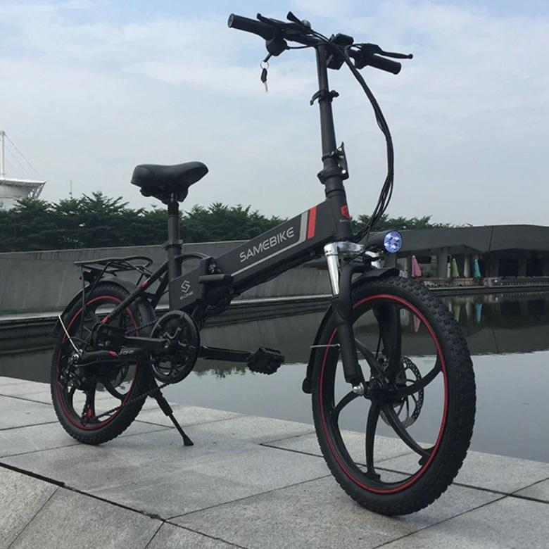 Samebike 20LVXD30 Folding E-Bike 10Ah / 48V - 35km/h - Motor: 350W - Battery: 480W - 20 Zoll Electric Bike