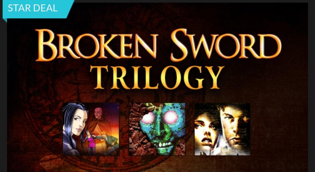 Broken Sword Trilogy - Baphomets Fluch 1-3 (Steam) für 0,99€ (Fanatical)