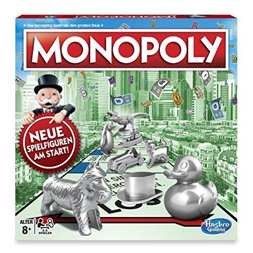 Hasbro C1009100 Monopoly Classic, Familienspiel