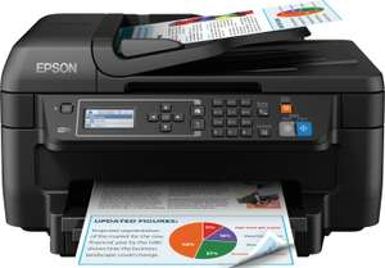 Epson WorkForce WF-2750DWF Tintenstrahl-Multifunktionsgerät (Duplexdruck, 33 S/Min s/w 20 S/Min Farbe, WLAN, AirPrint & Cloud Print)