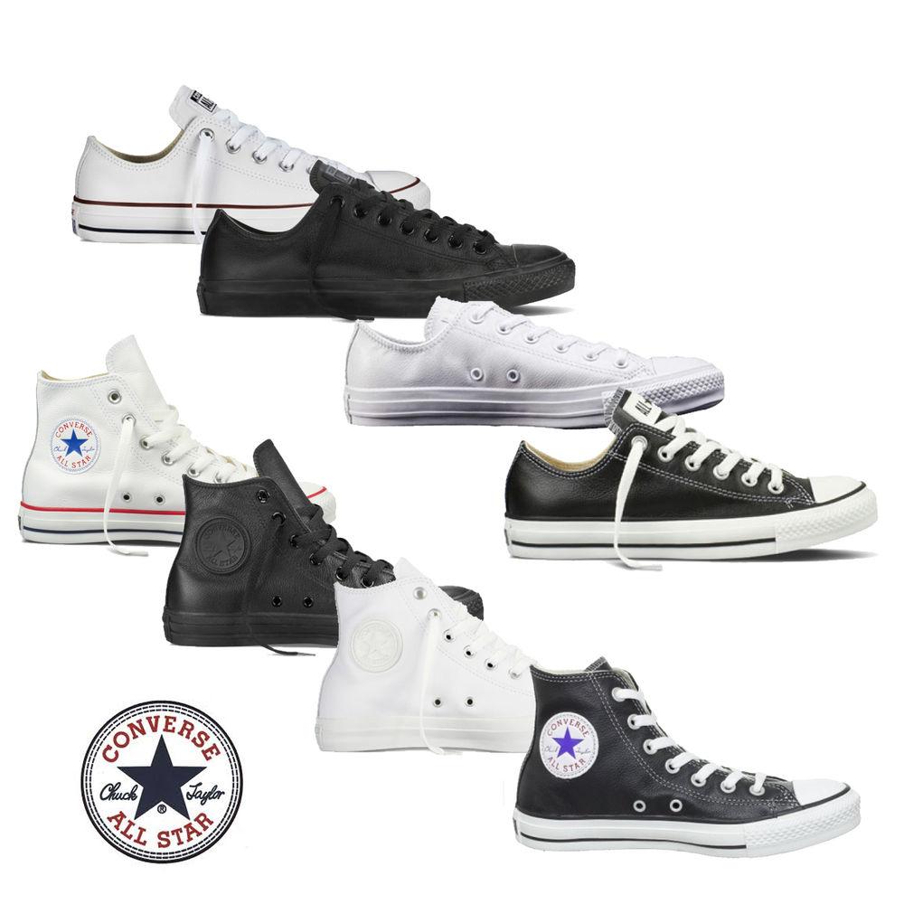 Ebay Converse Chucks Taylor Hi/ Low Leder Sneaker OX