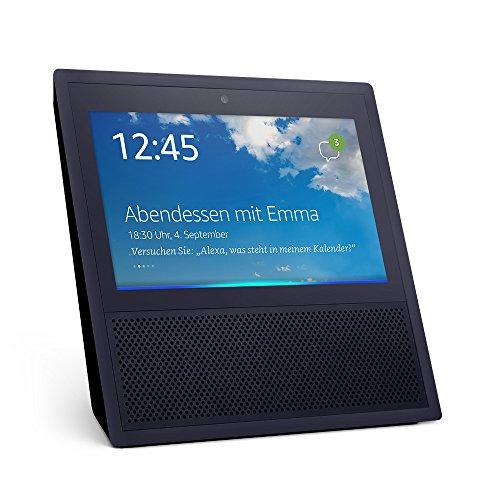 [Amazon] Echo Show (1. Gen.), Intelligenter Lautsprecher mit 7-Zoll Bildschirm und Alexa - schwarz oder weiß