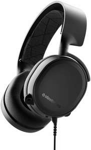 Steelseries Arctis 3 (2019 Edition), schwarz, kabelgebundenes Dolby 7.1 Gaming Headset mit 3,5mm Klinke (Amazon.es)