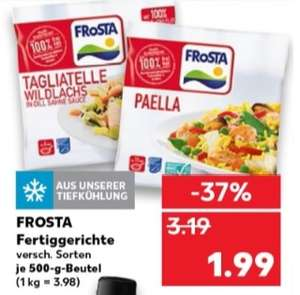 kaufland frosta tagliatelle wildlachs angebot coupon f r 1 49 ab. Black Bedroom Furniture Sets. Home Design Ideas