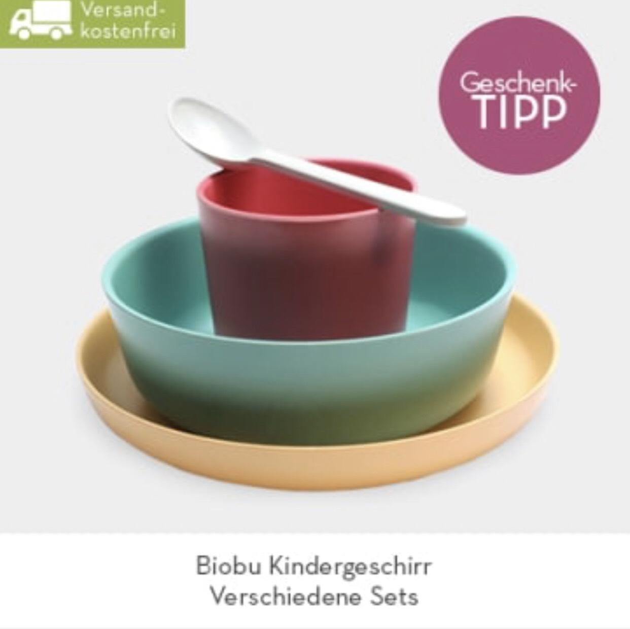 BIOBU Bambus-Kindergeschirr für 19,99€ Anstatt 42,98€