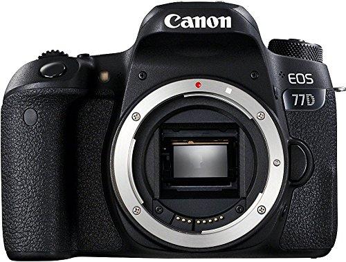 Canon »EOS-77D« Kamera (24,2 MP, NFC WLAN (Wi-Fi) Bluetooth) Body schwarz inkl. Vsk für 567,81 € > [amazon.es]