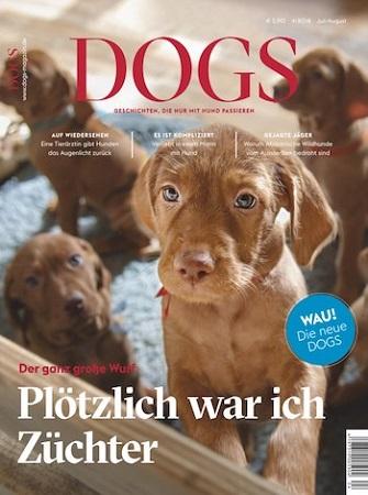 """Zeitschrift """"Dogs"""" im Jahresabo für 35,40€ + z.B. 25€ Gutschein für Amazon"""