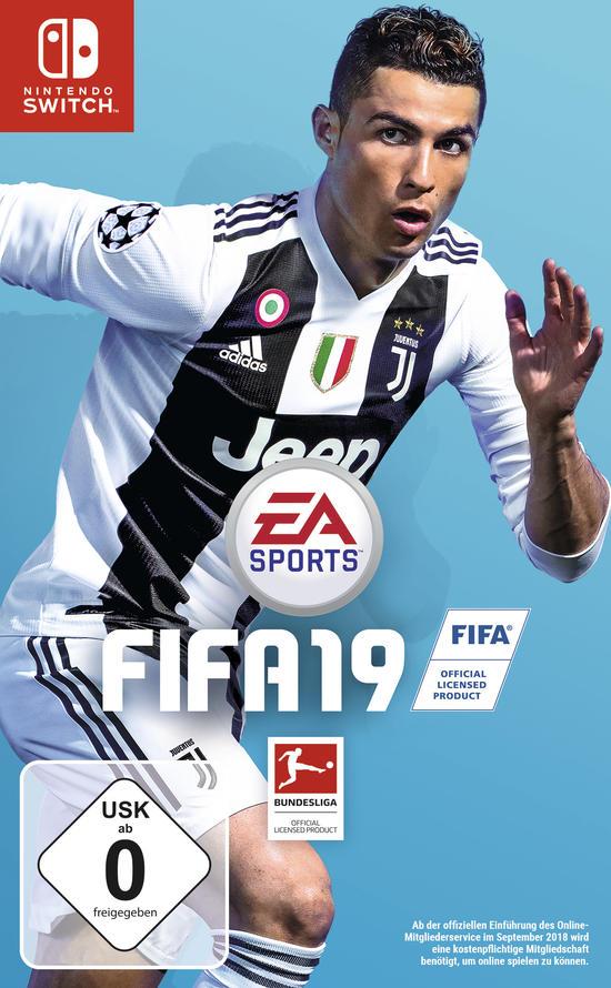 FIFA 19 (Switch/PC Origin) für je 29,99€ & (Xbox One & PS4) für je 39,99€ (GameStop)