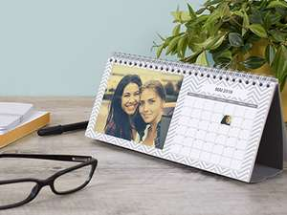 Tischkalender mit eigenen Fotos gratis - 5 € VSK