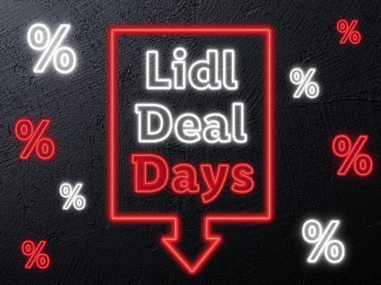 Lidl Deal Days Versandkostenfrei + 5 euro Extra Gutschein (MbW 60euro) 23.11 - 26.11