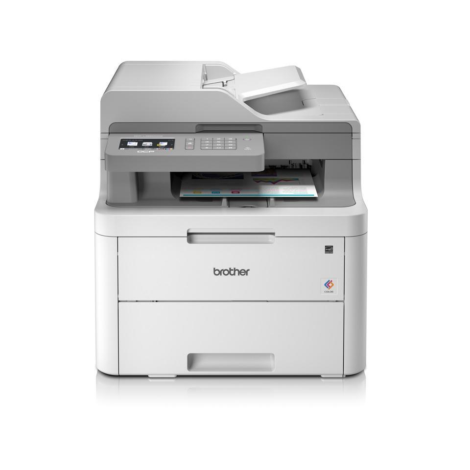 Brother DCP-L3550CDW Farblaser-Multifunktionsdrucker zum Bestpreis (A4, 3in1, Duplex, 18 Seiten/Min., Farbe und s/w, USB 2.0, LAN, WLAN)