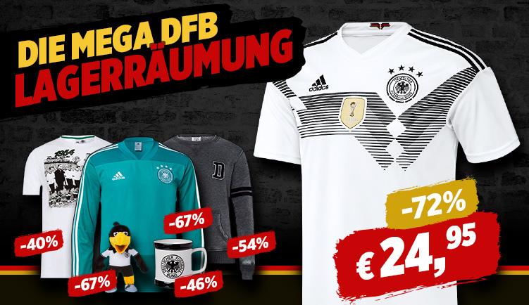 [Bildshop] DfB Abverkauf - Jacken, Shirts, Tassen, etc - zB Trikot ab 24,95