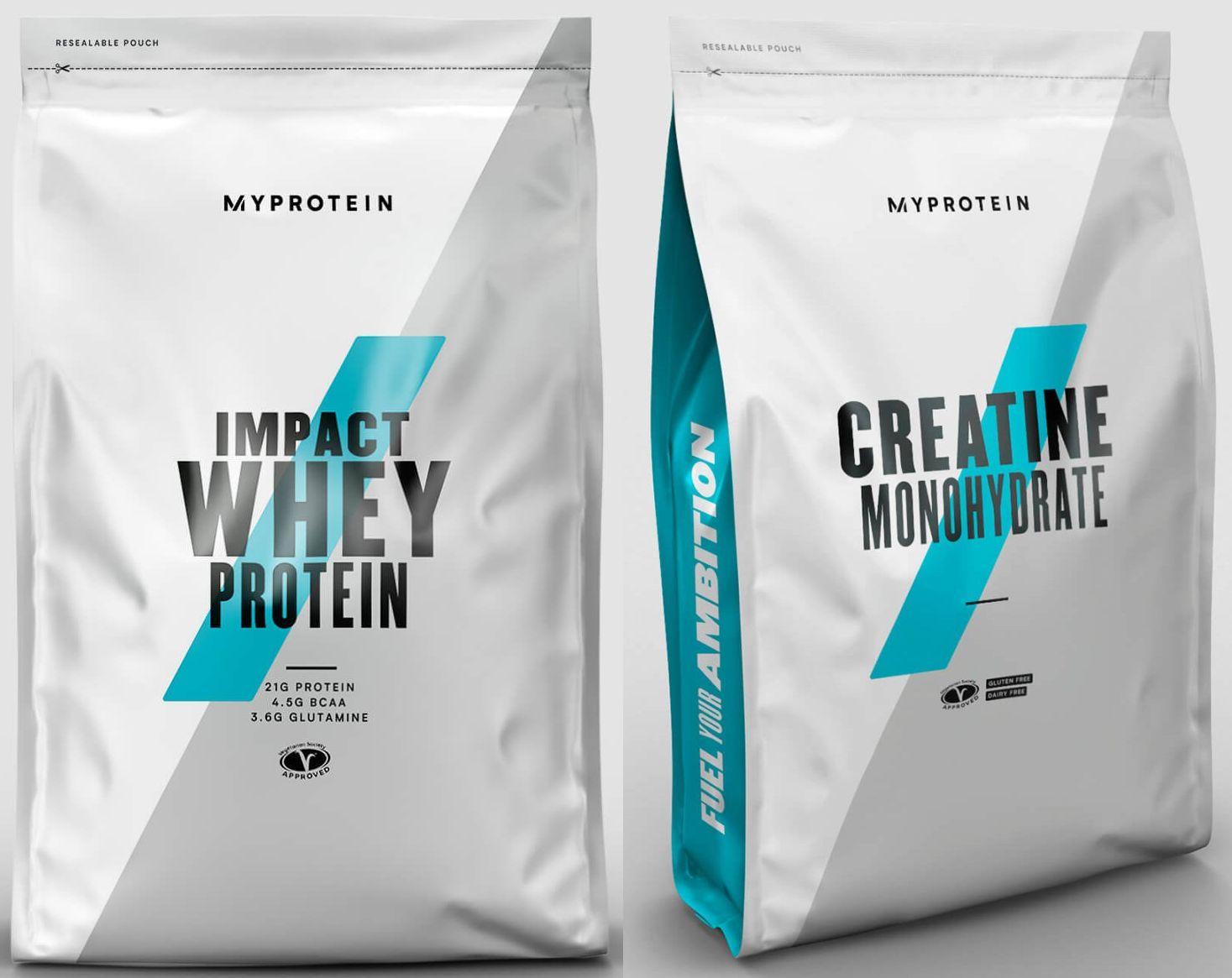 Black Week bei Myprotein mit 28% Rabatt auf reduzierte Produkte: z.B. 5kg Impact Whey Protein mit Geschmack (PI95) + 5kg Haferflocken