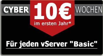 EUserv vServer VPS ab 10€ für 1 Jahr Laufzeit.