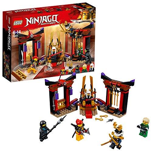 [Amazon Prime] LEGO Ninjago 70651 Duell im Thronsaal, bunt, Einheitsgröße
