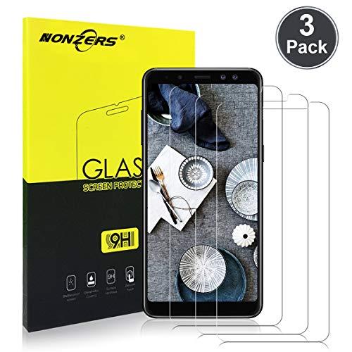 Gratis 3 Stück H9 Schutzglas fü Samsung A8 (2018)