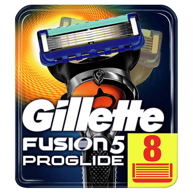 Gillette Fusion5 ProGlide Rasierklingen, 8 Stück für 18,99€  (Amazon Prime)