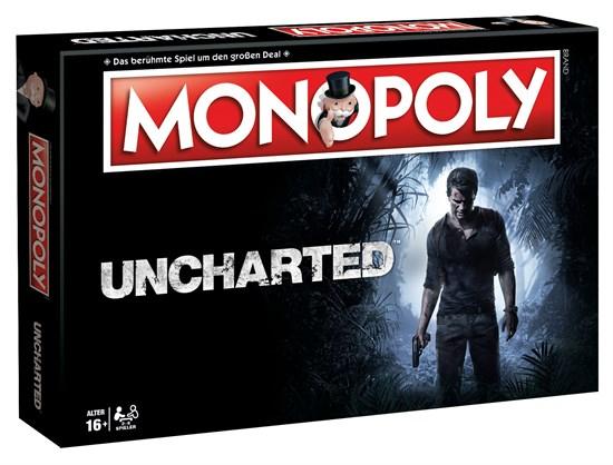 Uncharted - Monopoly für 9,96€ & Hasbro Monopoly Solo A Star Wars Story für 19,96€ uvm. (GameStop)