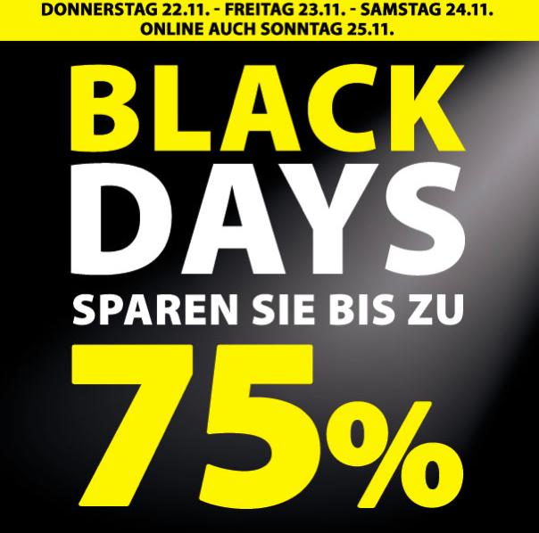 Black Days beim Dänischen Bettenlager