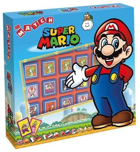 Match Super Mario strategische Würfelspiel für 14,96€ & Super Mario - Kartenspiel UNO (englisch) für 7,96€ uvm. (GameStop)