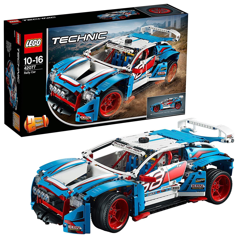 [Amazon.es] LEGO Technic 42077 - Rallyeauto, Set für geübte Baumeister (Alternate mit Paydirekt nur 53,93€)