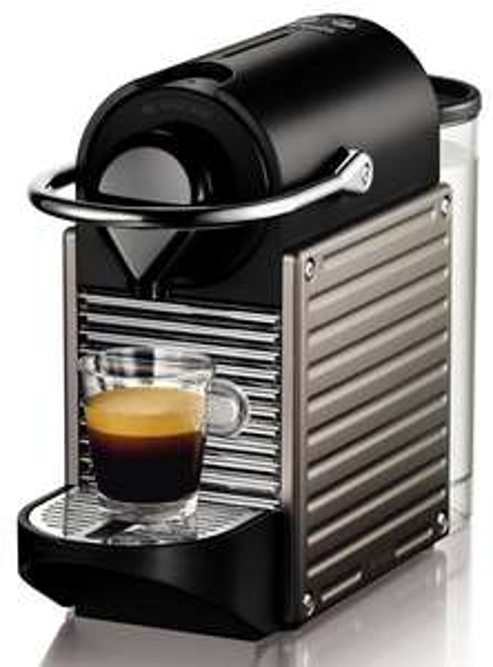 Krups XN3005 Pixie Nespresso Kapselautomat Electric Titan