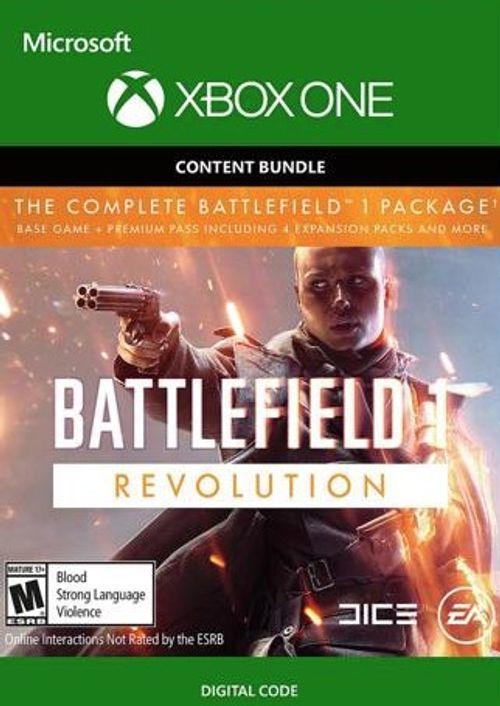Battlefield 1 Revolution inkl. Battlefield 1943 (Xbox One Download Code) für 5,69€ (CDkeys)