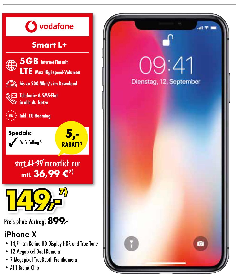 Iphone X Preis Vertrag Vodafone